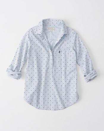 ANF Preppy Slip Back Shirt