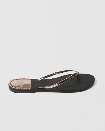 ANF Shine Flip Flops