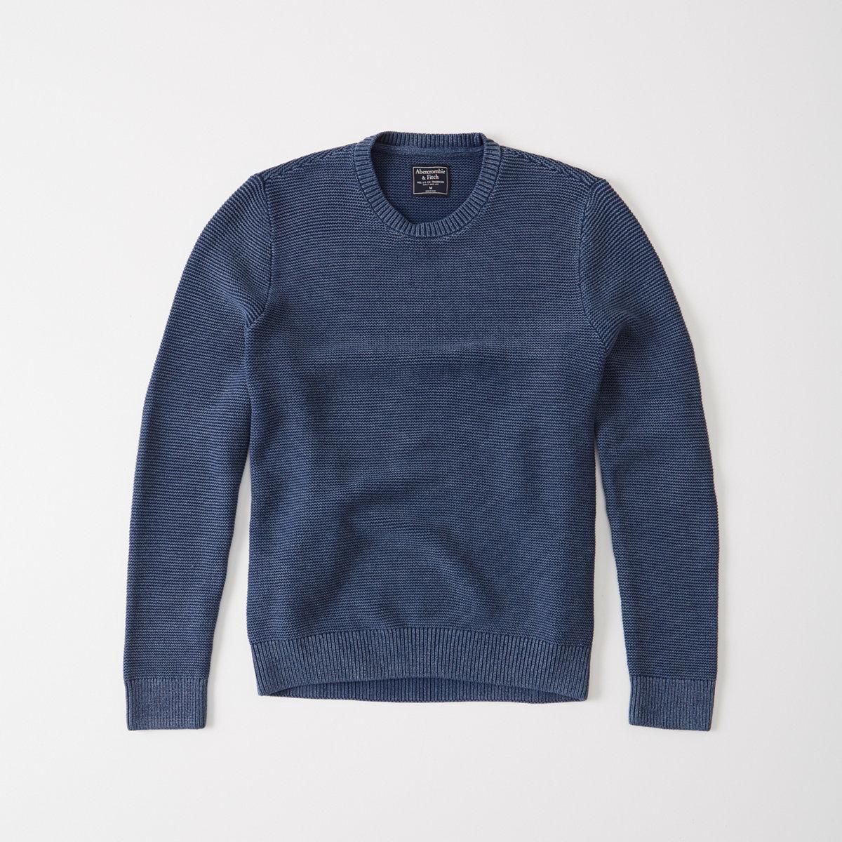 Stitched Crew Sweater