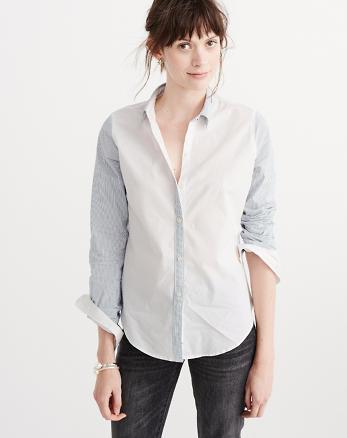 ANF Preppy Poplin Shirt