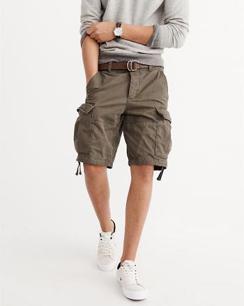 ANF Cargo Khaki Shorts