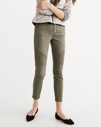 ANF Military Skinny Ankle Pants