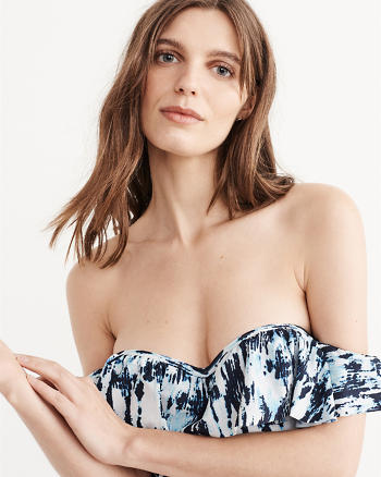 ANF Push-Up Off-The-Shoulder One Piece