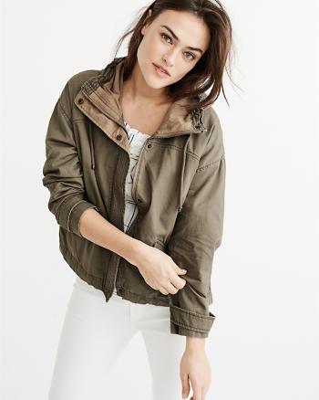 ANF Twill Anorak Jacket