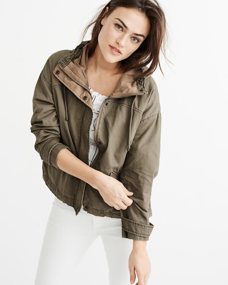 Anorak jackets for women