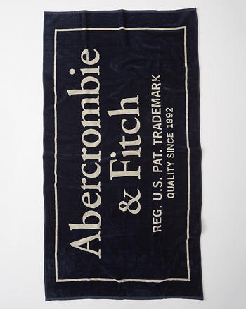 ANF Logo Beach Towel
