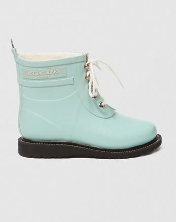 ANF Ilse Jacobsen Rubber Lace-Up Boots