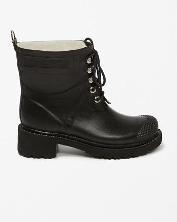 ANF Ilse Rubber 76 Lugtoe Ankle Boots