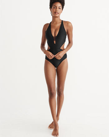 ANF Deep V One Piece