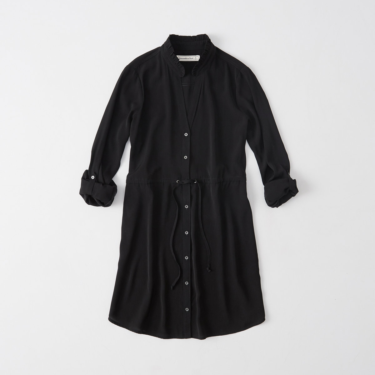 Long-Sleeve Shirtdress
