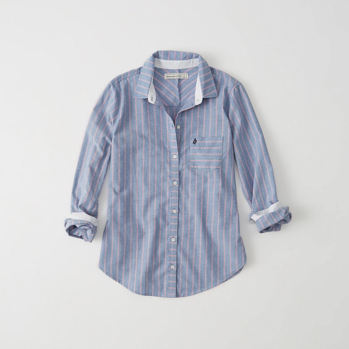 Striped Oxford Shirt