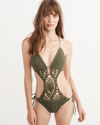 ANF Crochet One Piece