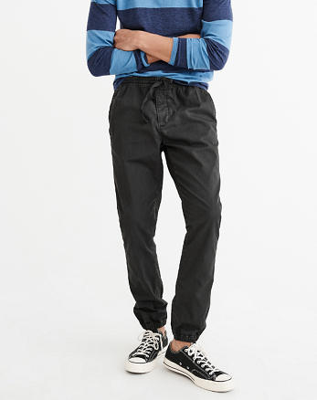 ANF Tie-Waist Joggers