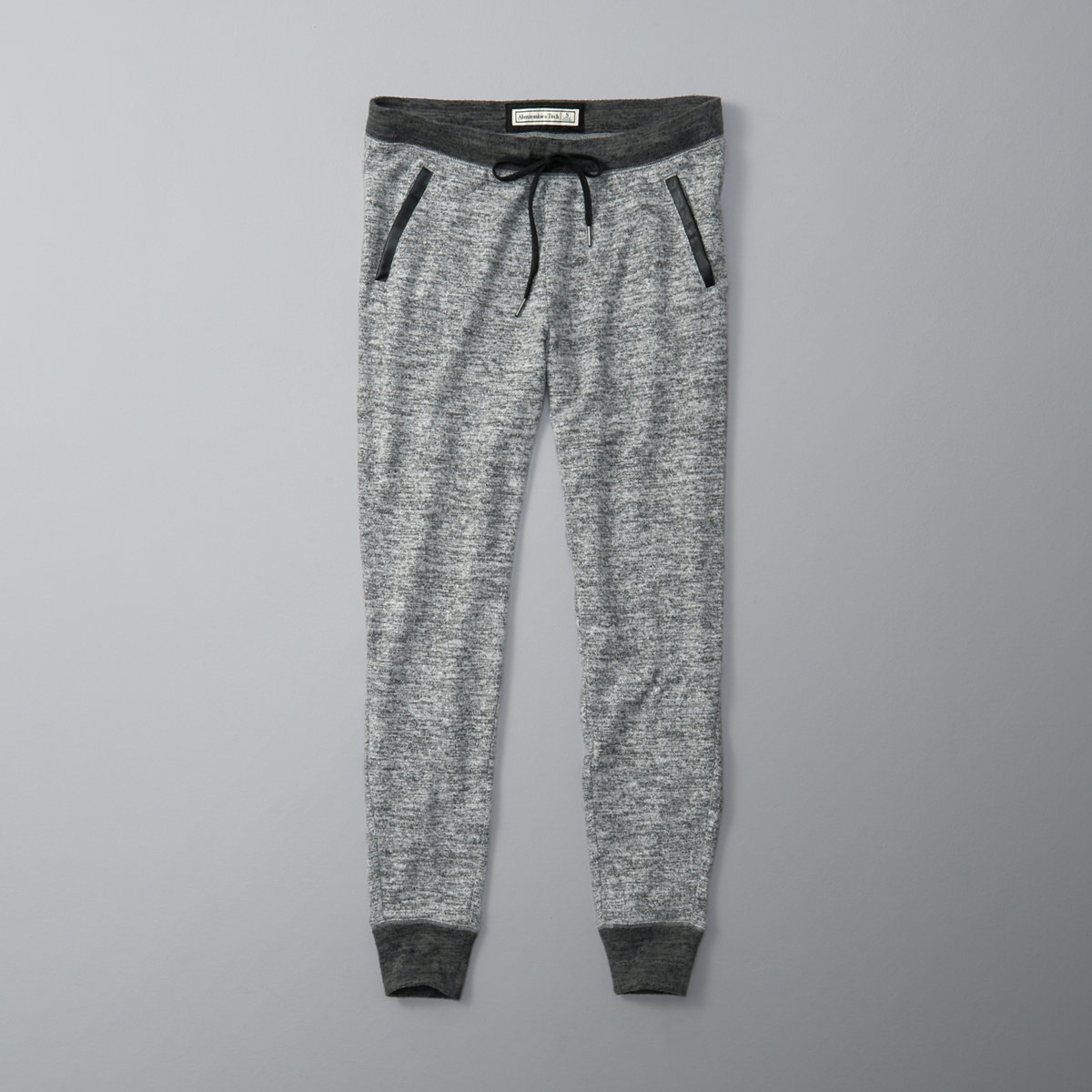 Faux Leather Pocket Joggers