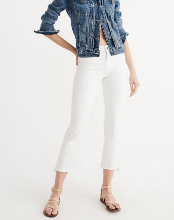 ANF Flare Ankle Jeans