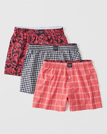ANF 3-Pack Woven Boxer