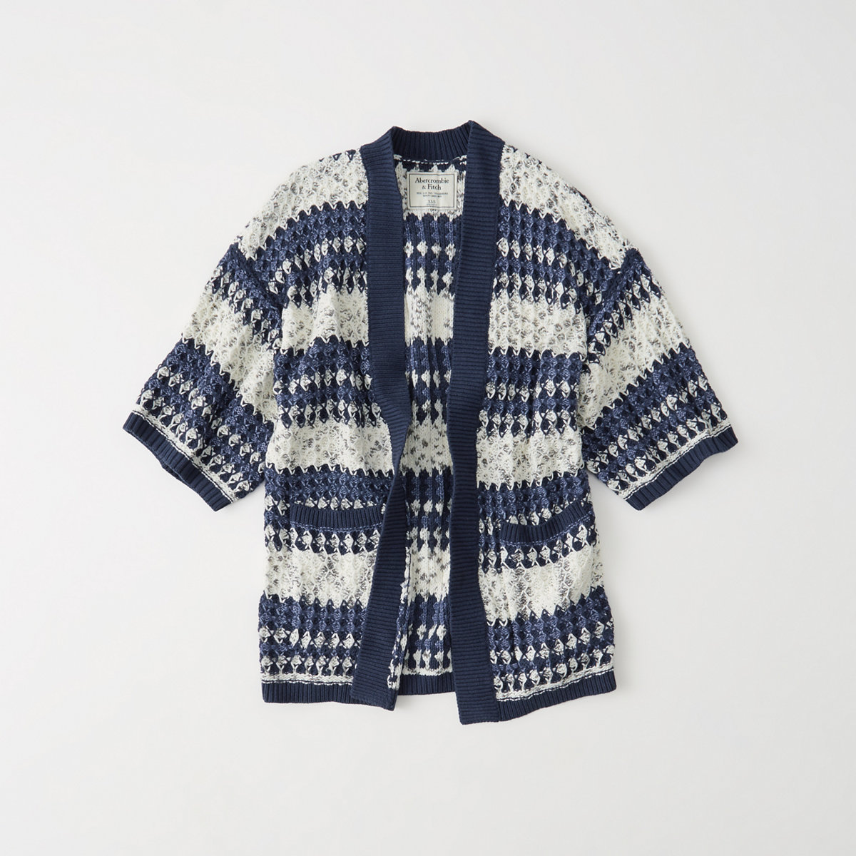 Pattern Kimono Cardigan