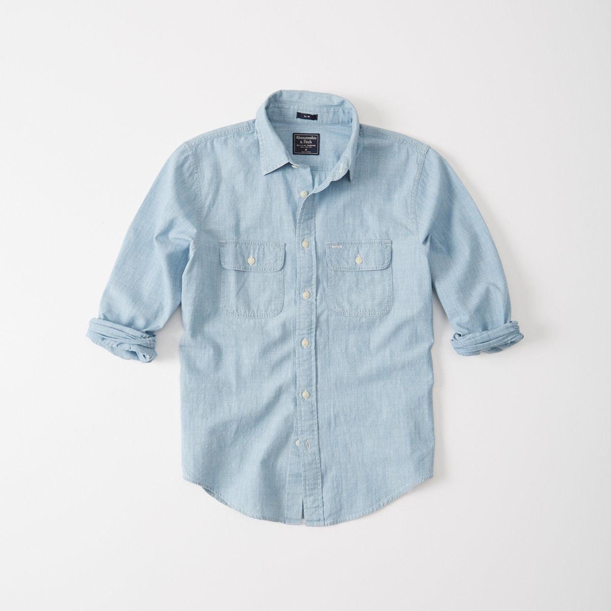 Two Pocket Chambray Shirt
