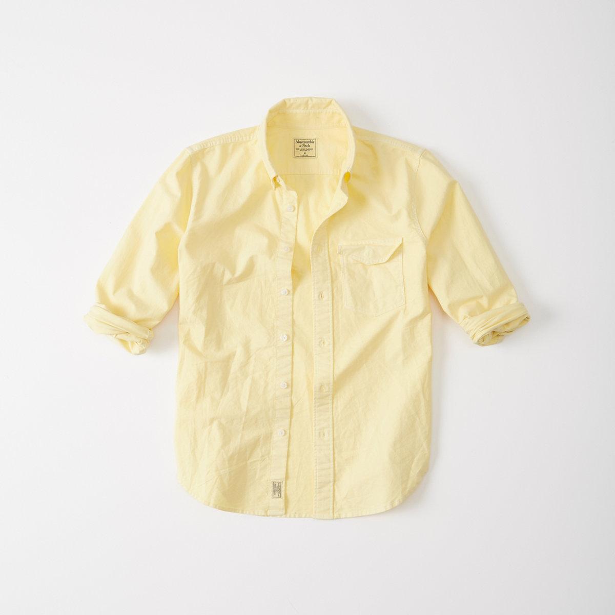 Garment Dye Oxford Shirt