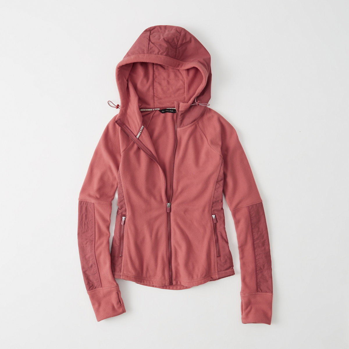 Active Stretch Fleece Full-Zip Hoodie