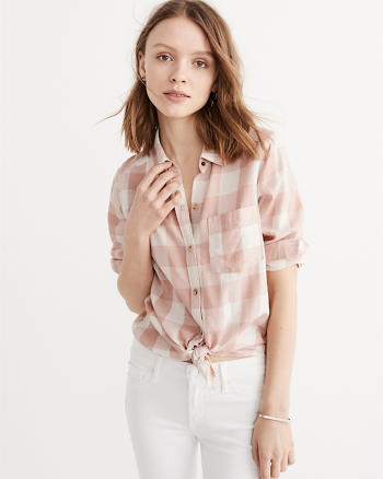 Drapey Plaid Shirt