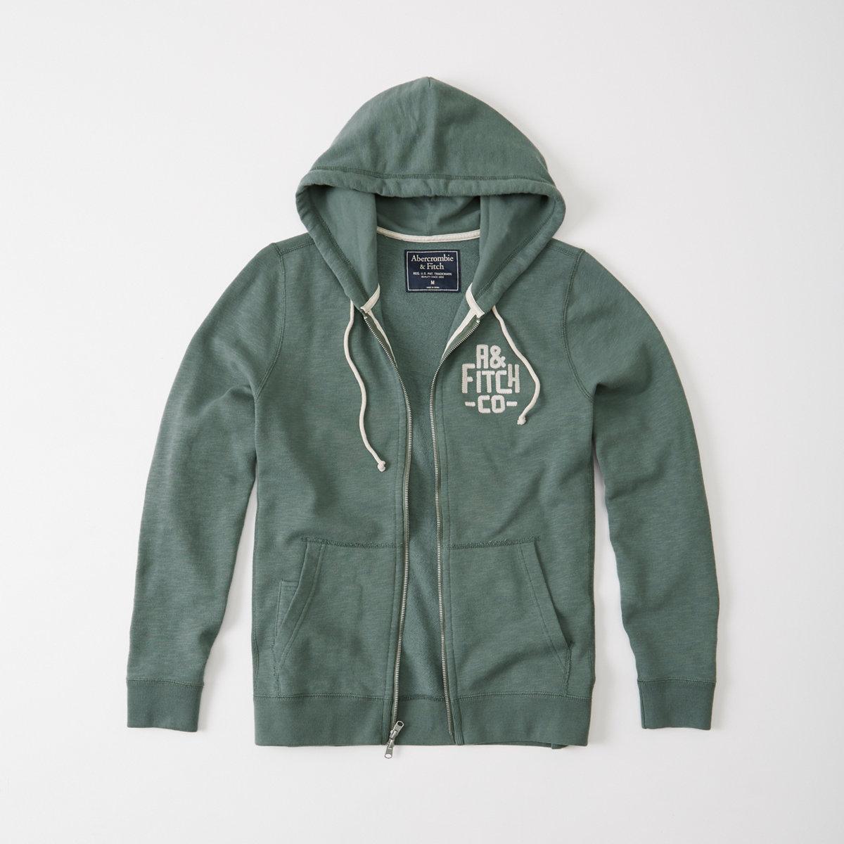 Logo Fleece Full-Zip Hoodie