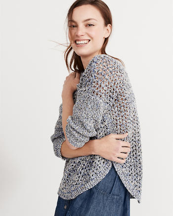 ANF Textured Stitch Sweater