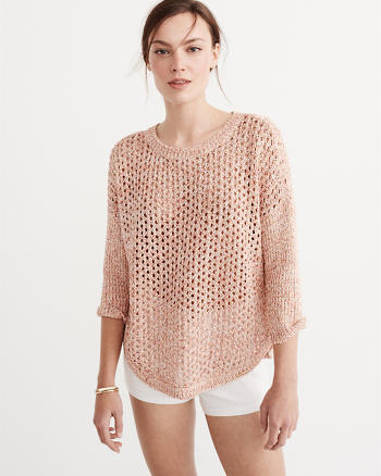 ANF Textured Stitch Sweater