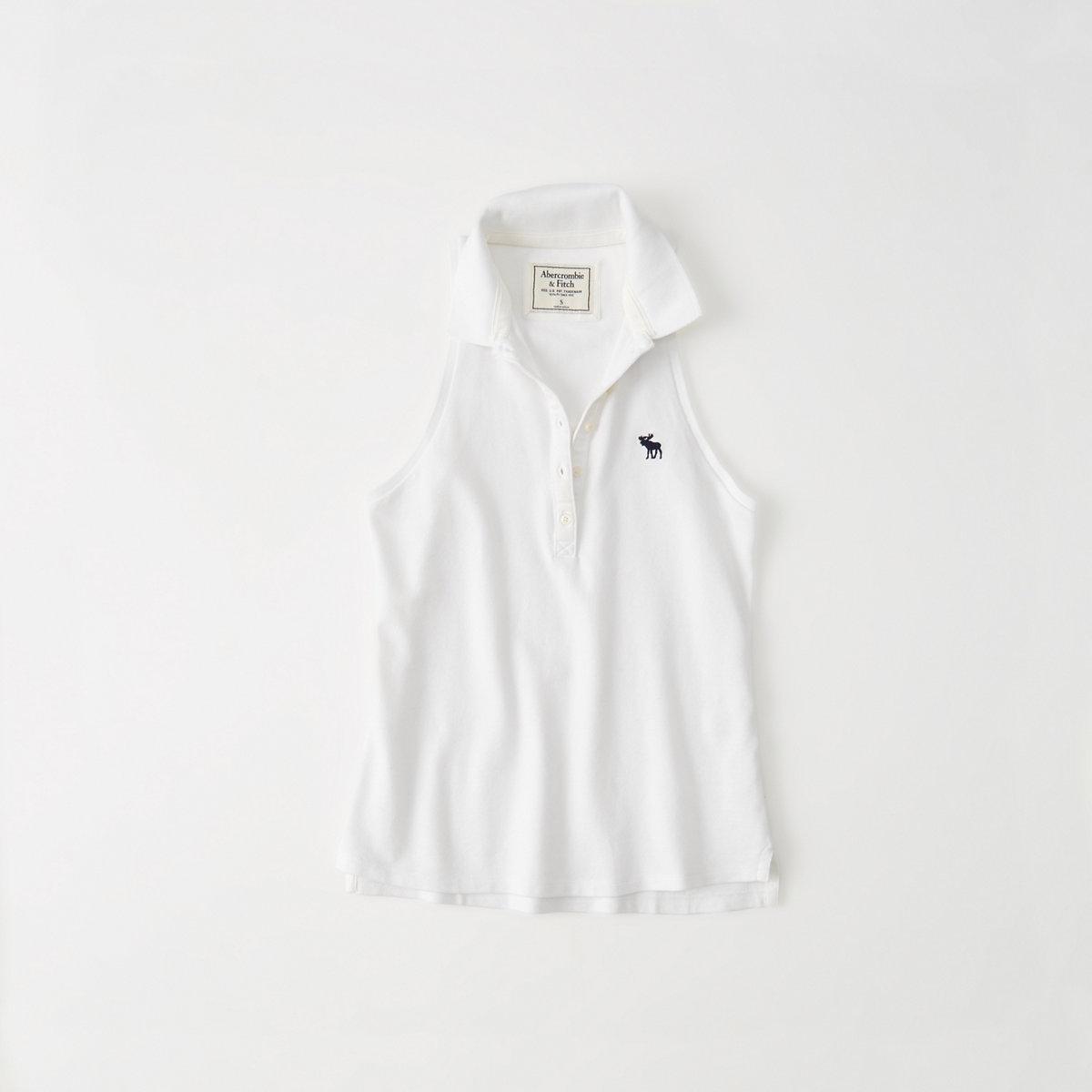 Sleeveless Icon Polo