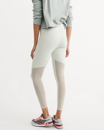 ANF Active High-Rise Mesh Leggings