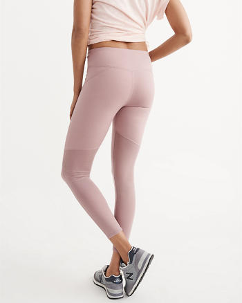 ANF High Rise Active Mesh Leggings