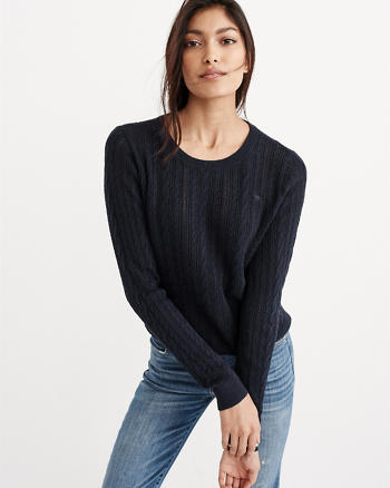 ANF Crew Knit Sweater