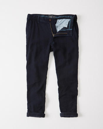 ANF Athletic Skinny Cropped Chino Pants