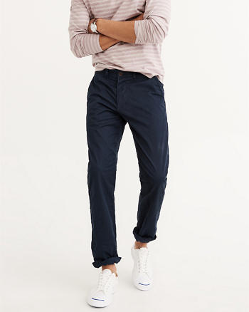ANF Slim Straight Stretch Chino Pants