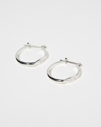 ANF Signature Hoop Earrings