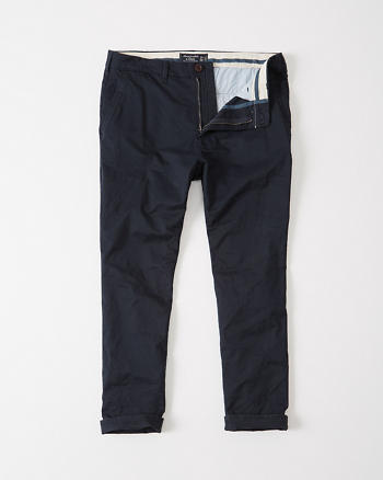 ANF Skinny Cropped Chino Pants