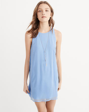 ANF Chiffon Swing Dress
