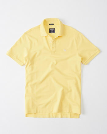 ANF Icon Stretch Polo
