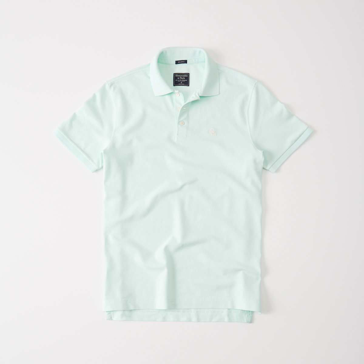 Relaxed Fit Stretch Polo