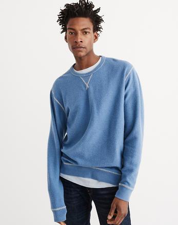 ANF Reversible Oversized Crew Sweatshirt