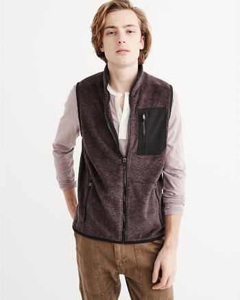 ANF Fleece Vest