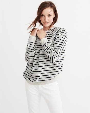 ANF Boyfriend Crew Sweatshirt