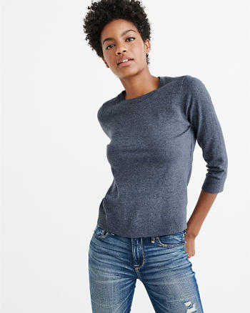 ANF Open Back Sweater