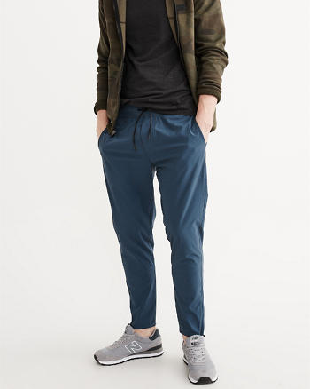 ANF Sport Cropped Nylon Pants