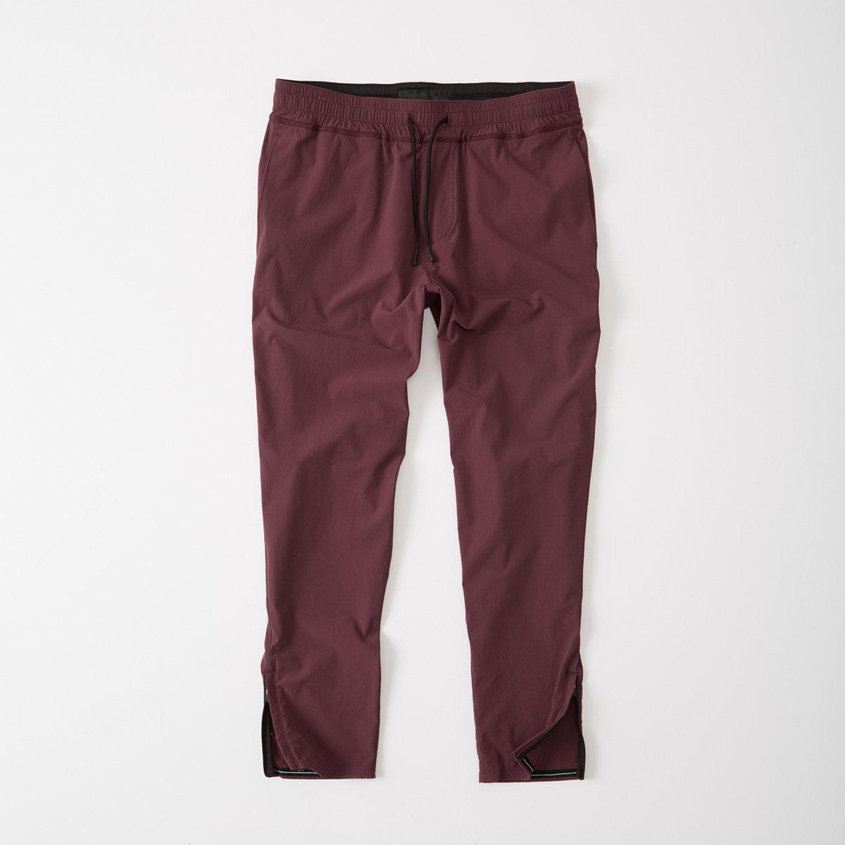 Sport Nylon Cropped Pants
