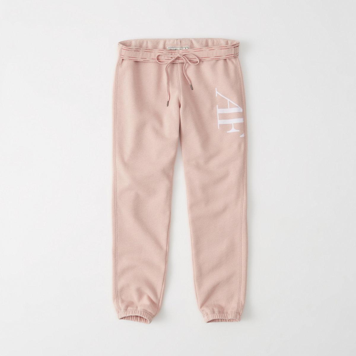 Logo Ankle Banded Sweatpants