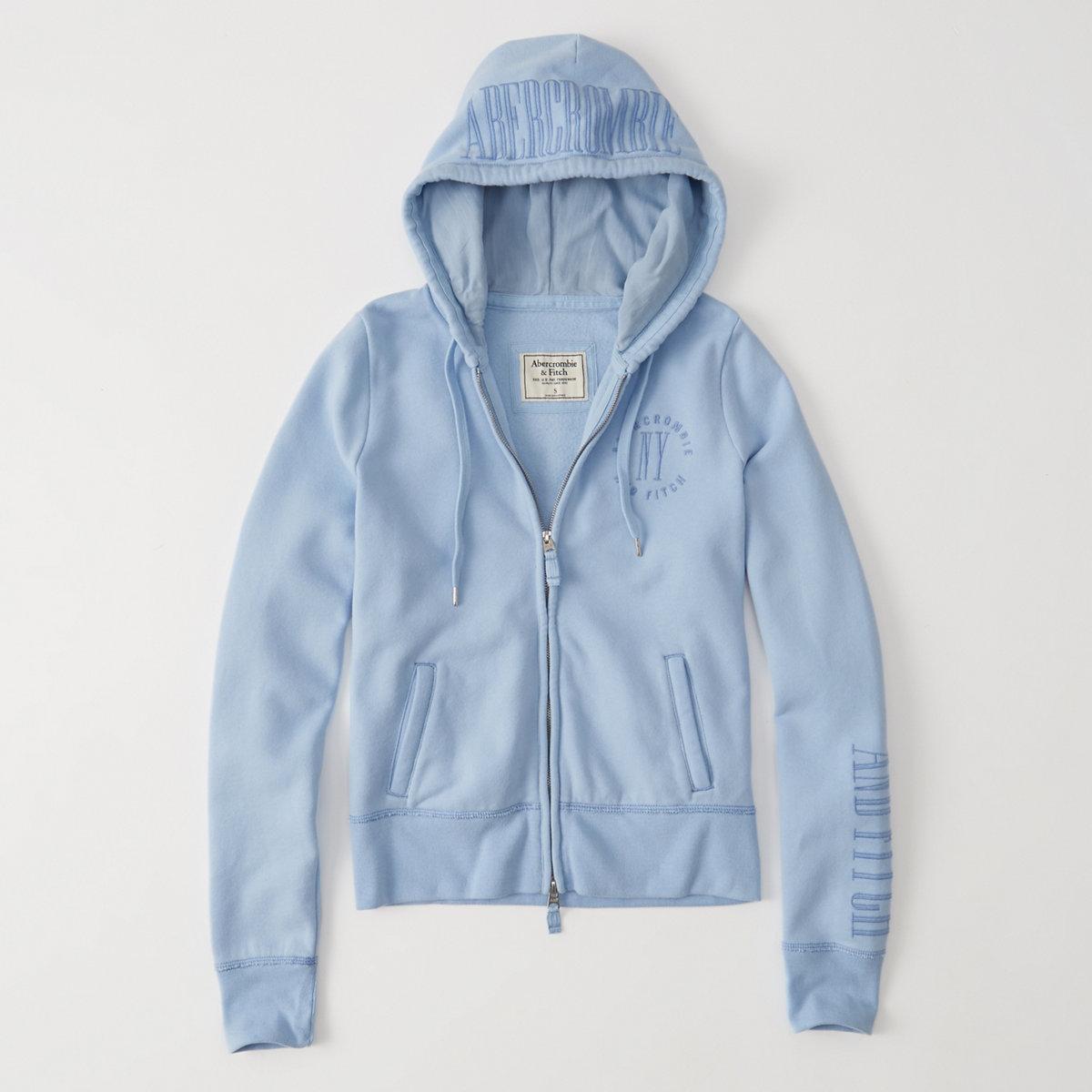 Full-Zip Fleece Hoodie