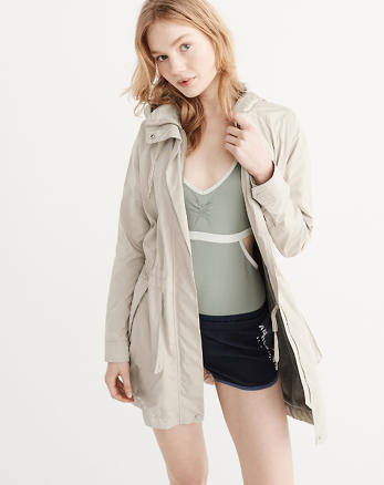 ANF Rain Parka Jacket