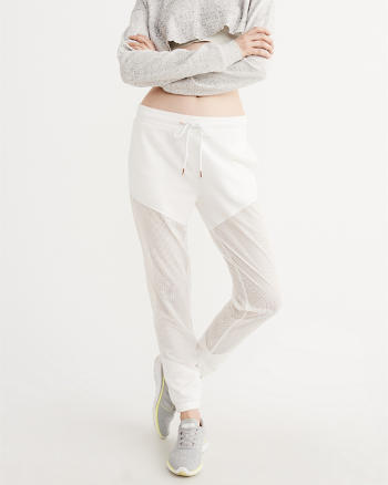 ANF Mesh Piece Sweatpants