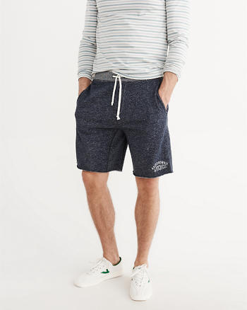 ANF Logo Graphic Fleece Shorts